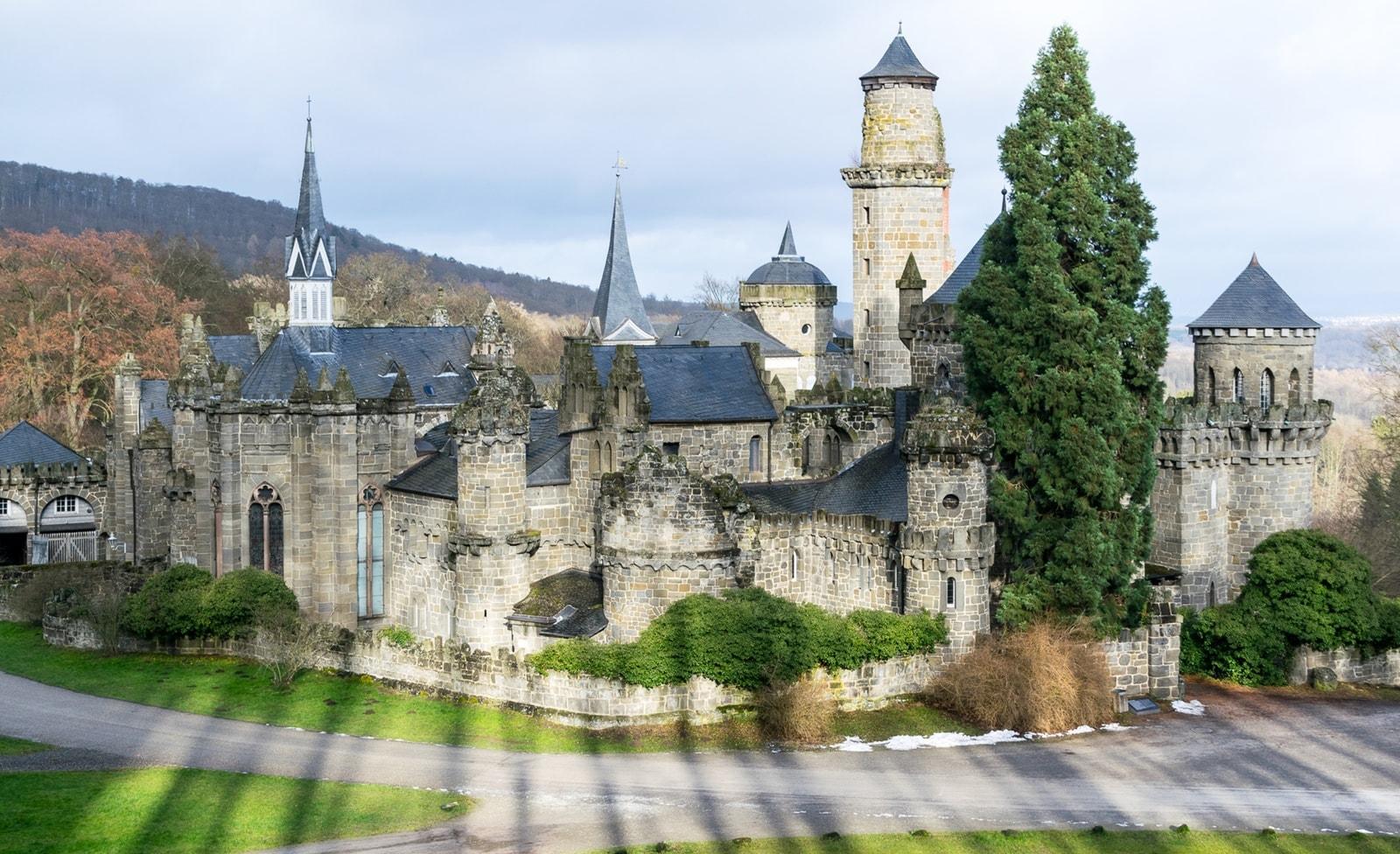 Burg im Bergpark Wilhelmshöhe
