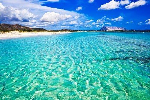 La Cinta Beach in Italien