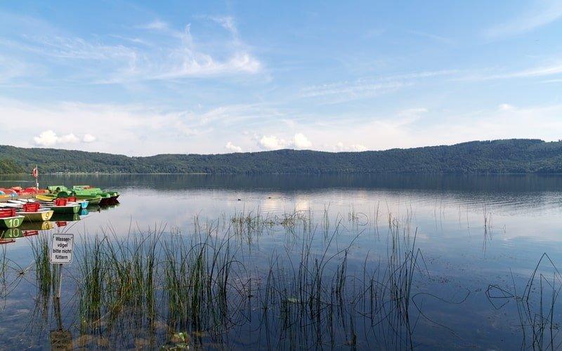 Laacher See in Rheinland Pfalz