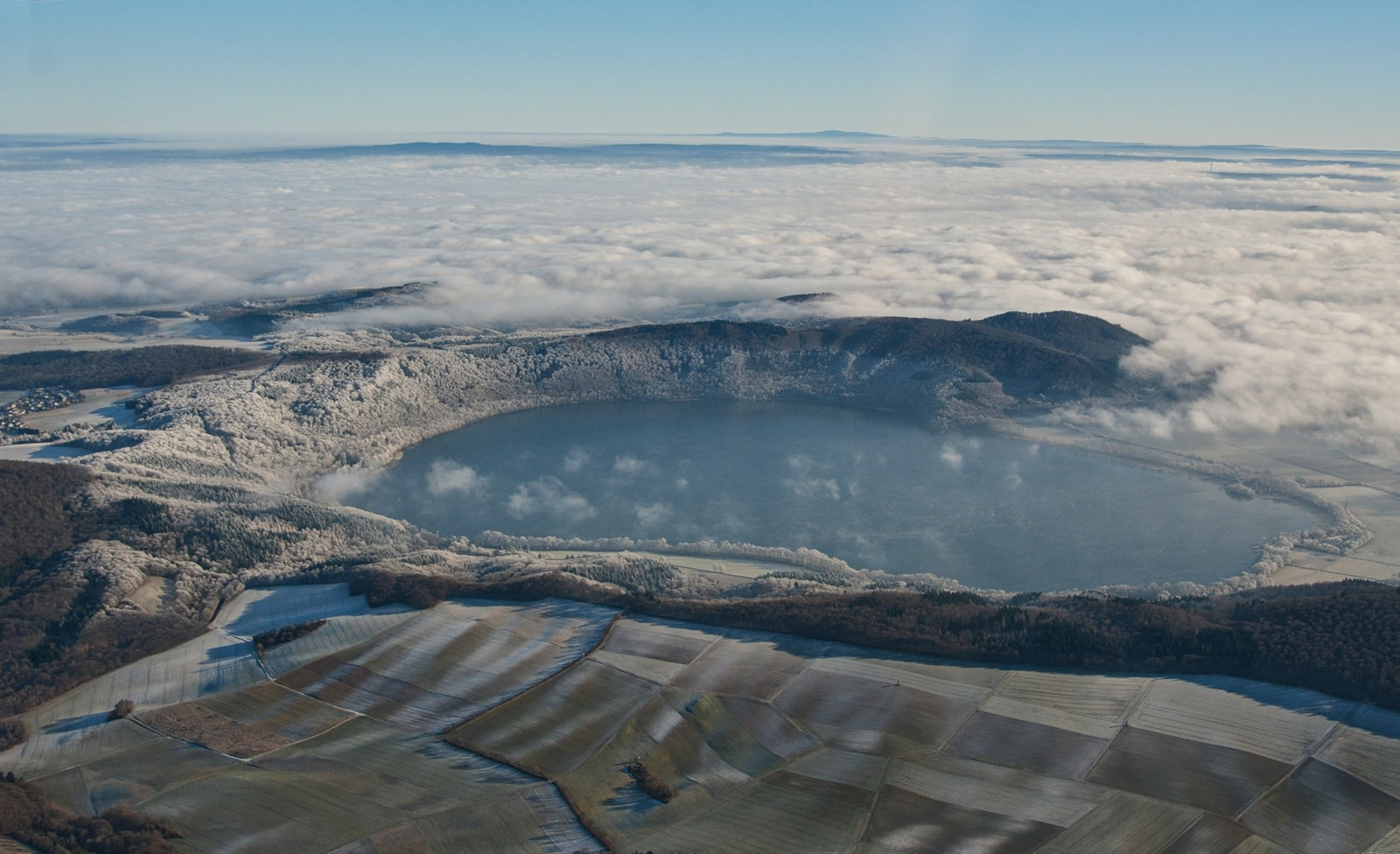 See in der Vulkaneifel