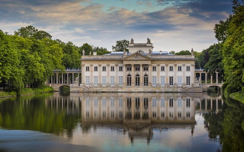 Lazienki-Palast