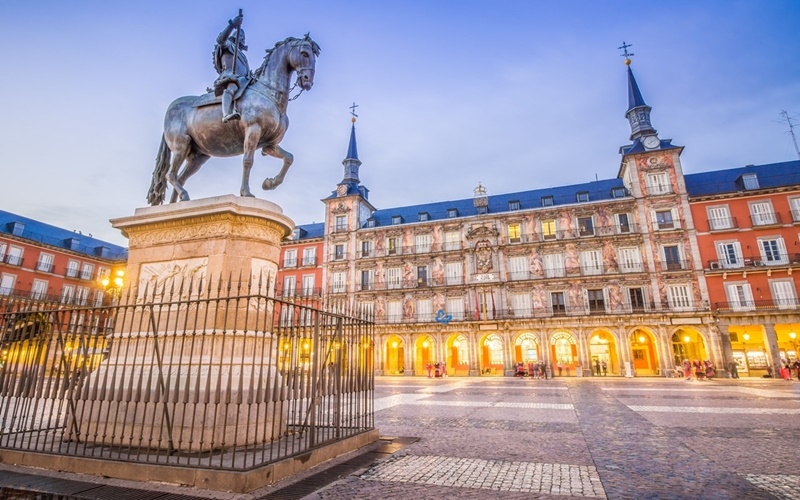 Plaza-Major Madrid