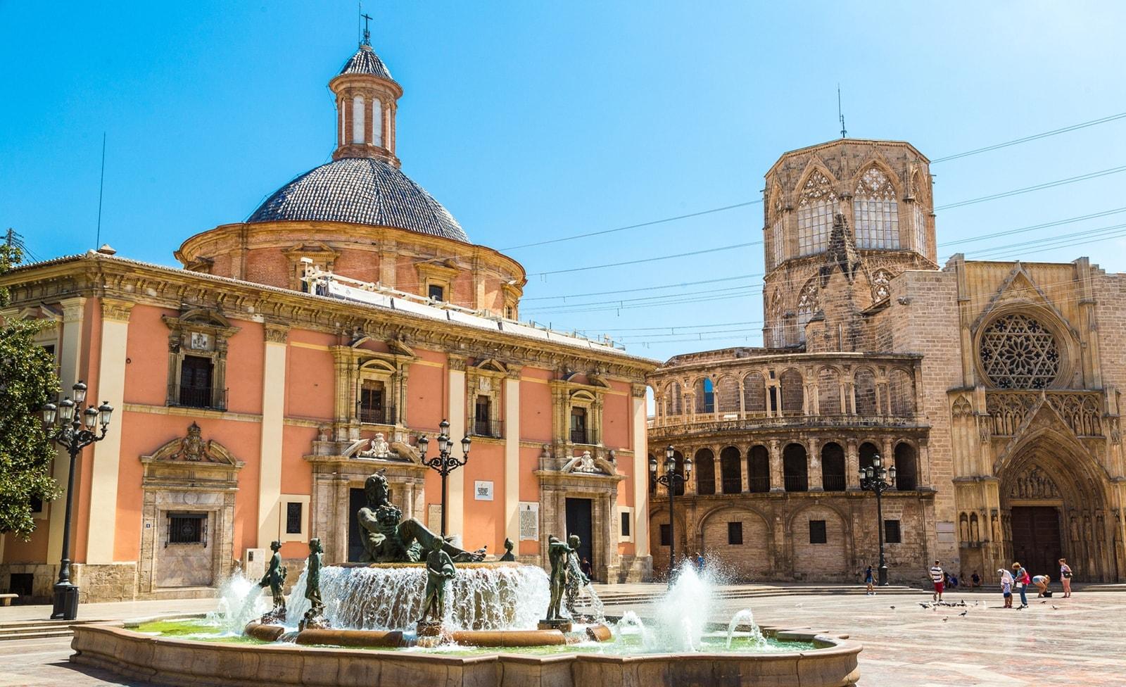 Platz in Valencia