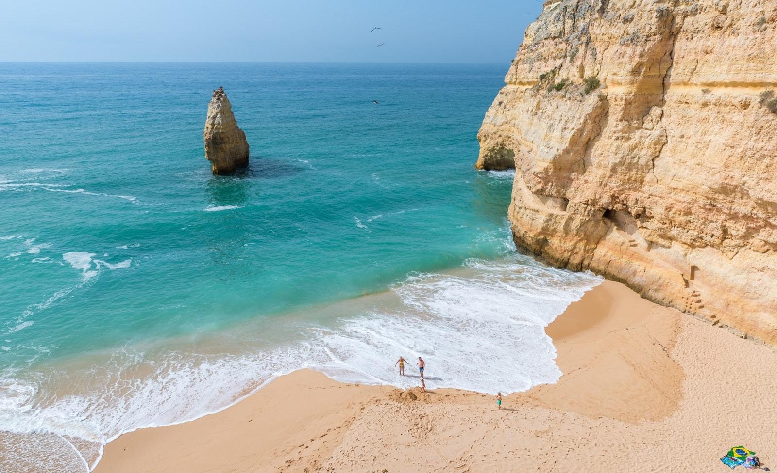 Küstenabschnitt an der Algarve