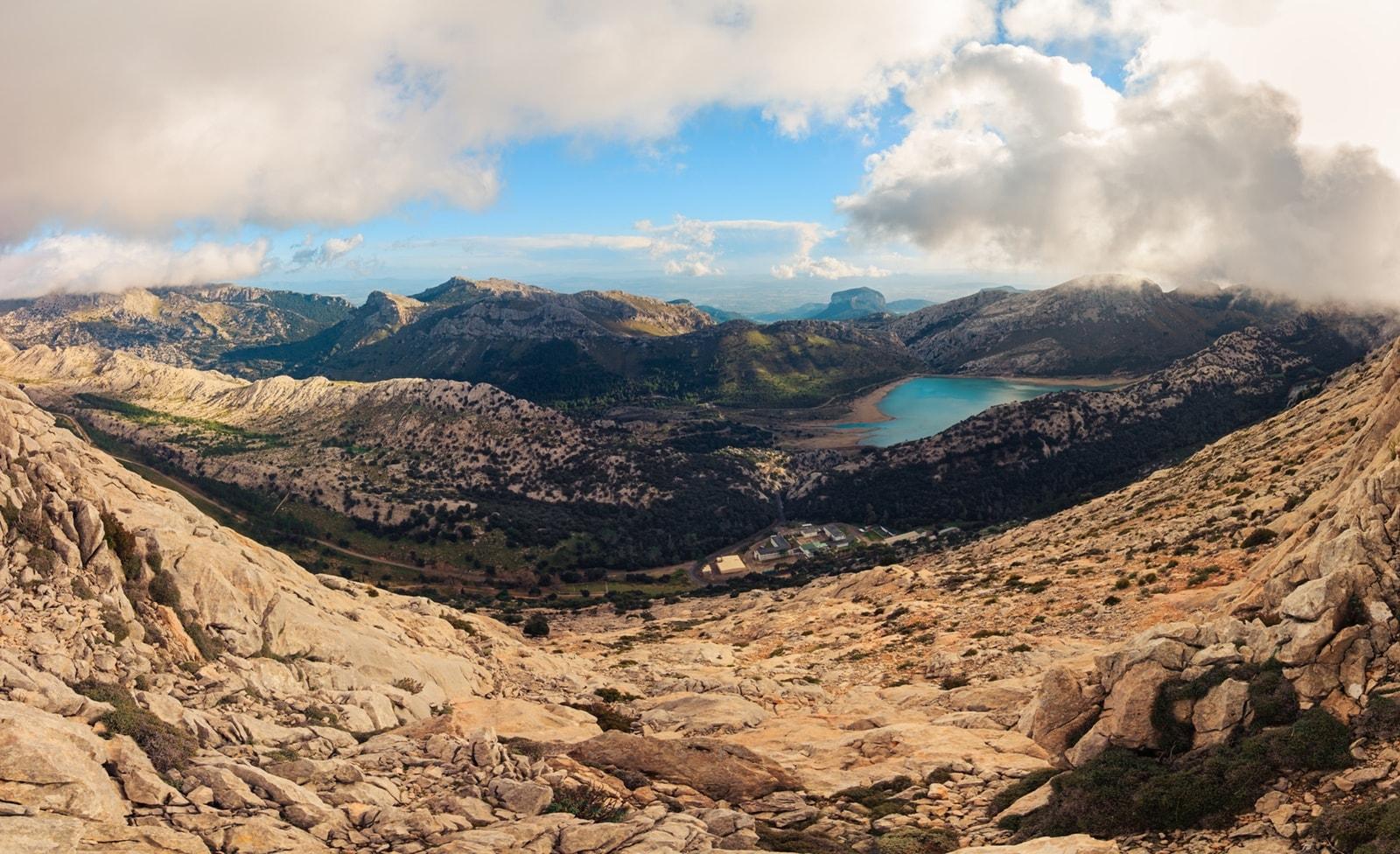 Berg auf Mallorca