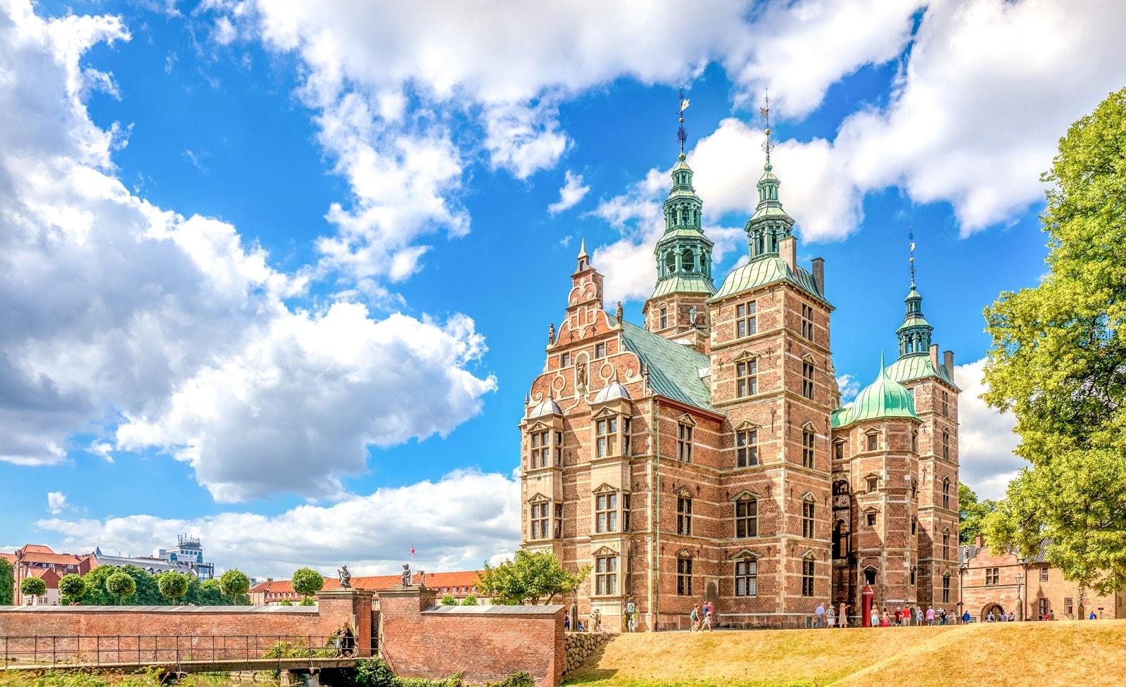 Schloss Rosenborg in der Nähe von Kopenhagen