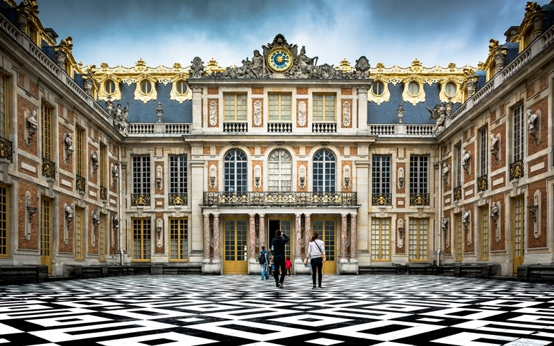 Schloss Versailles bei Paris