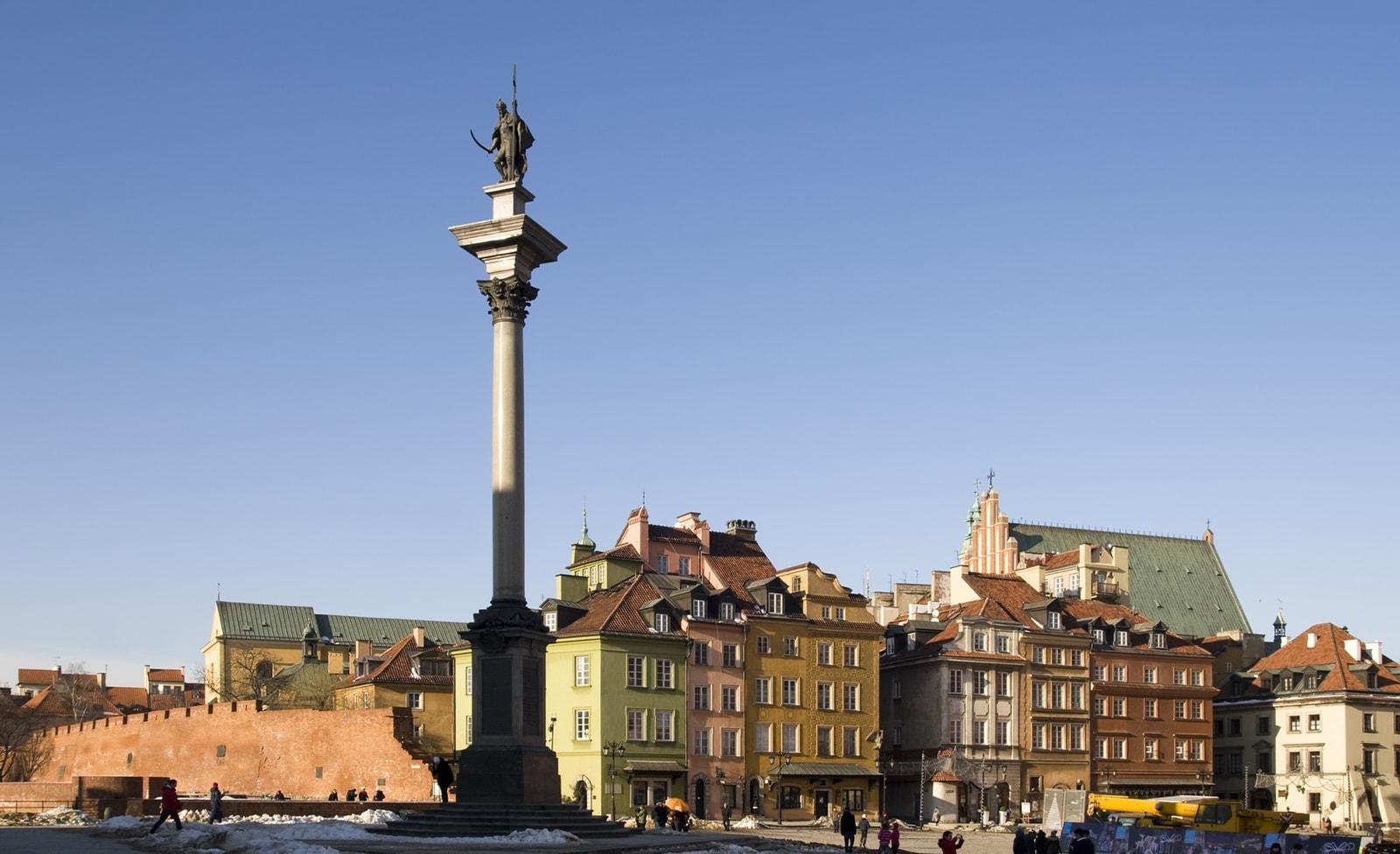 Sigismundsäule in Warschau