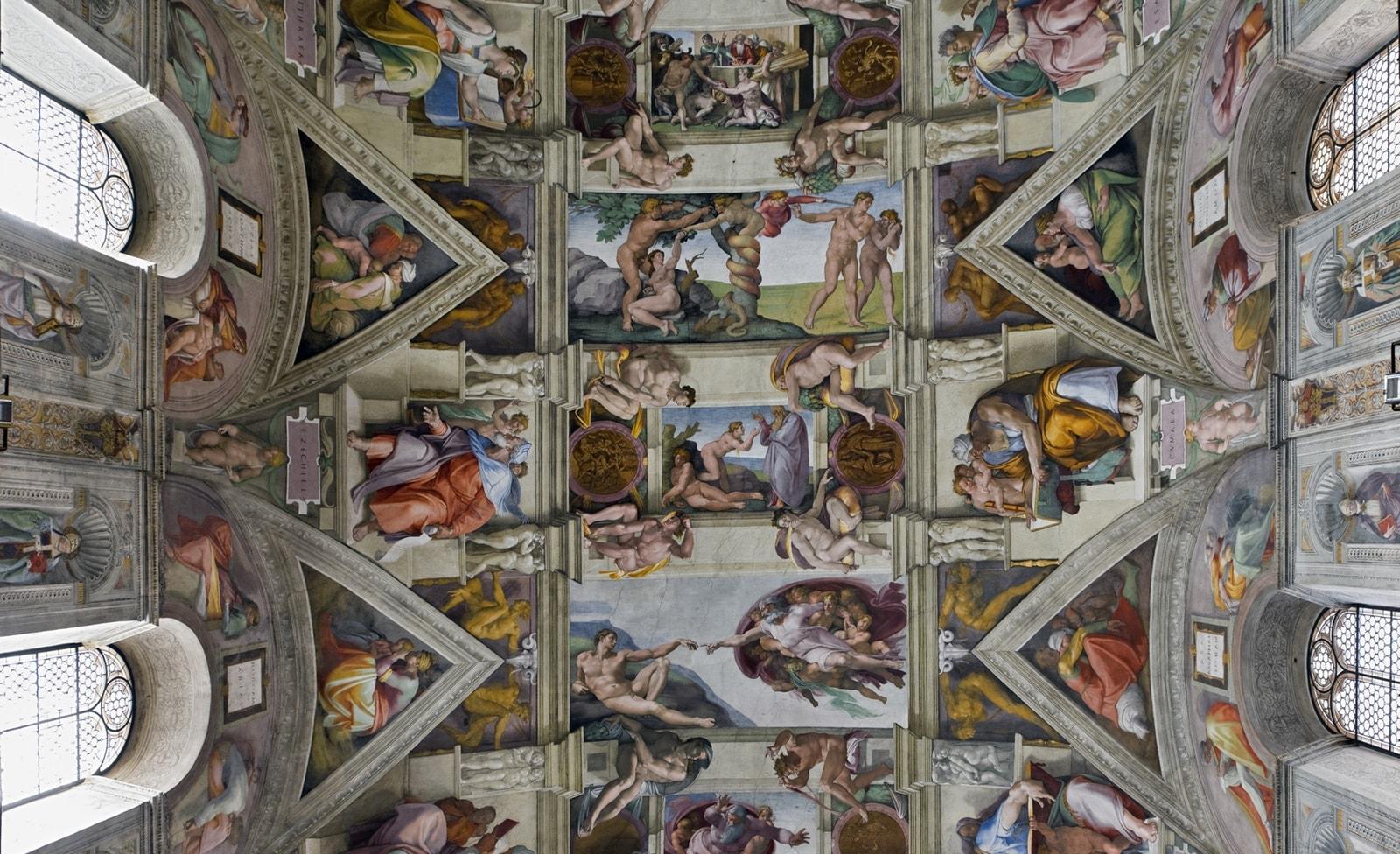 Fresko der Sixtinischen Kapelle