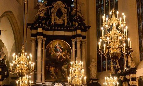 St. Michael und St. Gundula Kirche Interior