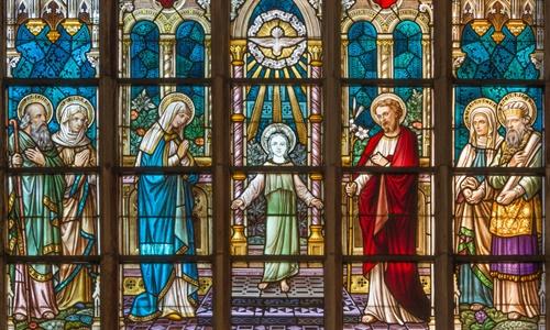 St. Salvator Kirche innen