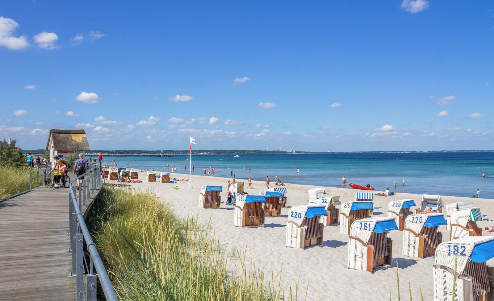 Strand in der Lübecker Bucht