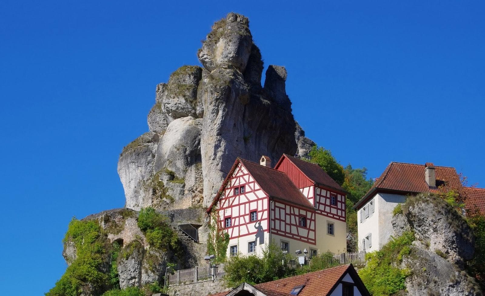 Kleinstadt in der Fränkischen Schweiz