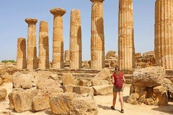 Tempel Agrigent Sizilien 2