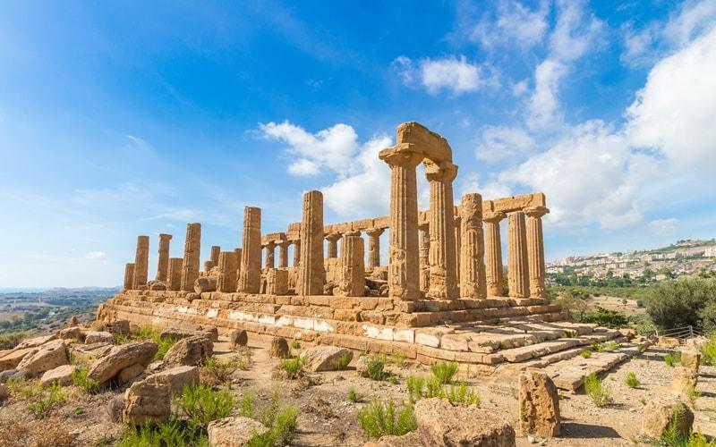 Tempel Agrigent Sizilien