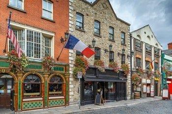 Temple Bar Straße Dublin