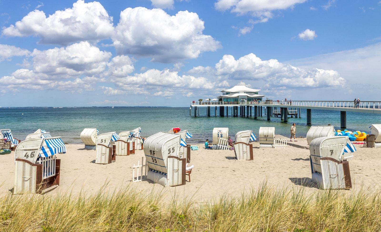 Strandnasicht an der Ostsee