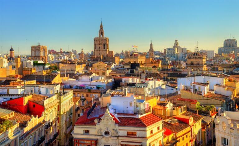 Stadtansicht Valencia