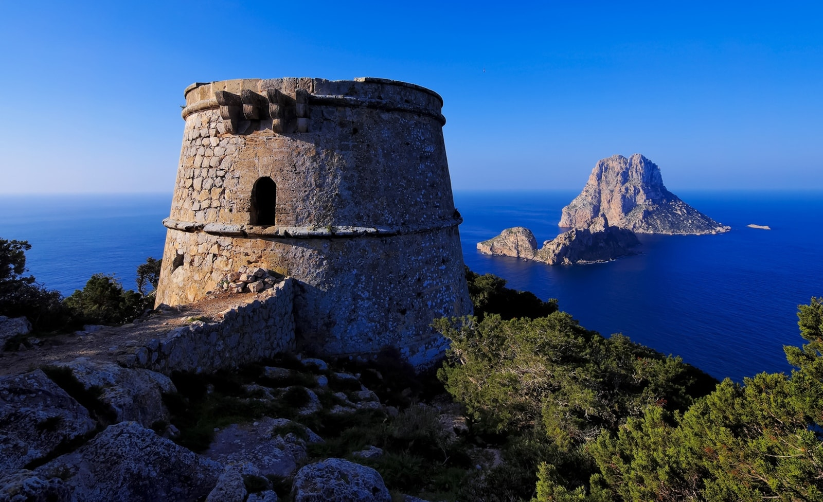 Piratenturm auf Ibiza
