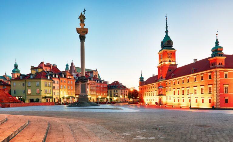 Stadtansicht Warschau
