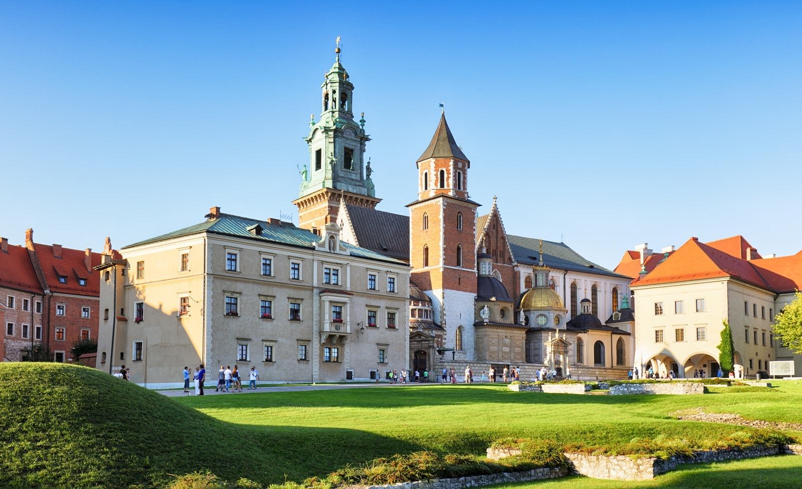 Wawel-Kathedrale in Krakau