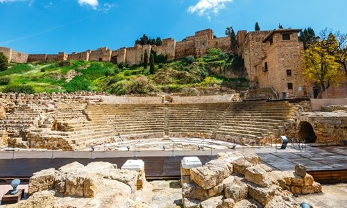 römisches Theater alcazaba malaga