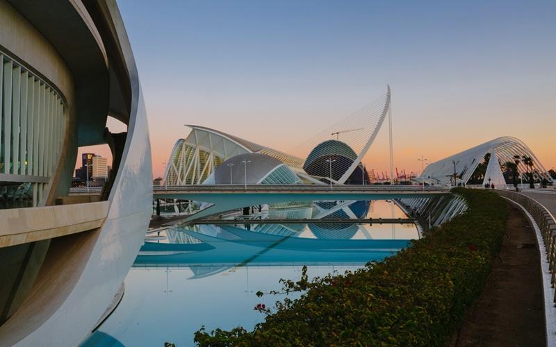 stadt der Kunst und Wissenschaft Valencia