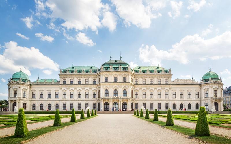 wien österreich sehenswürdigkeiten belvedere