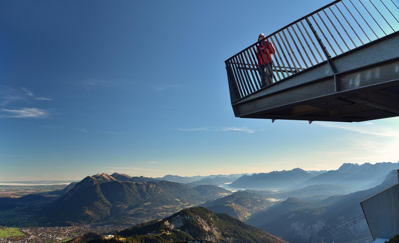 Aussichtspunkt Zugspitze