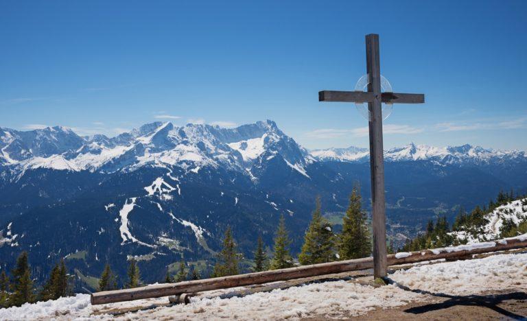Aussichtspunkt auf der Zugspitze