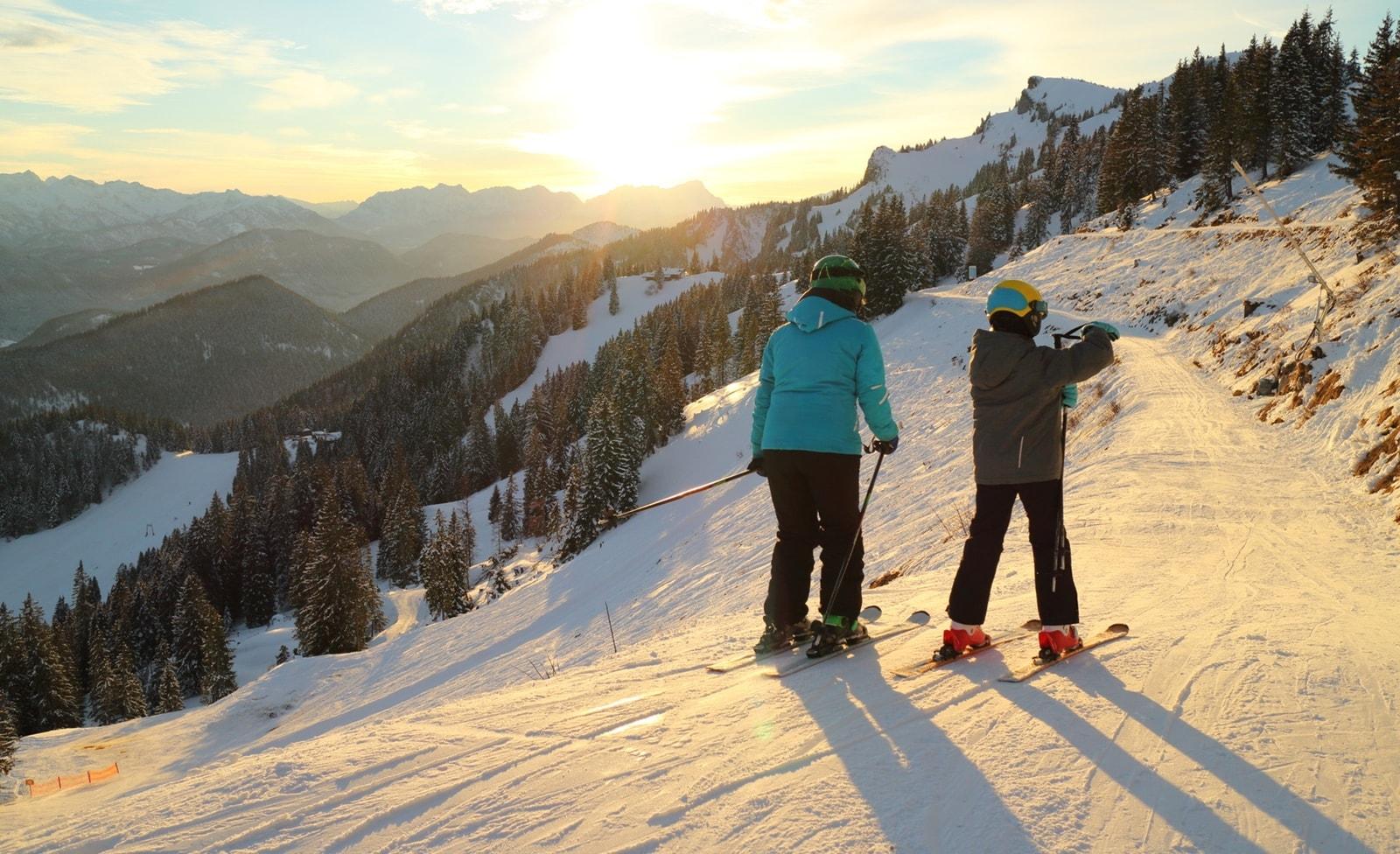 Skifahren in Brauneck Langgries