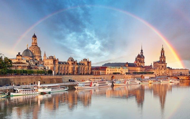 Stadtansicht von Dresden