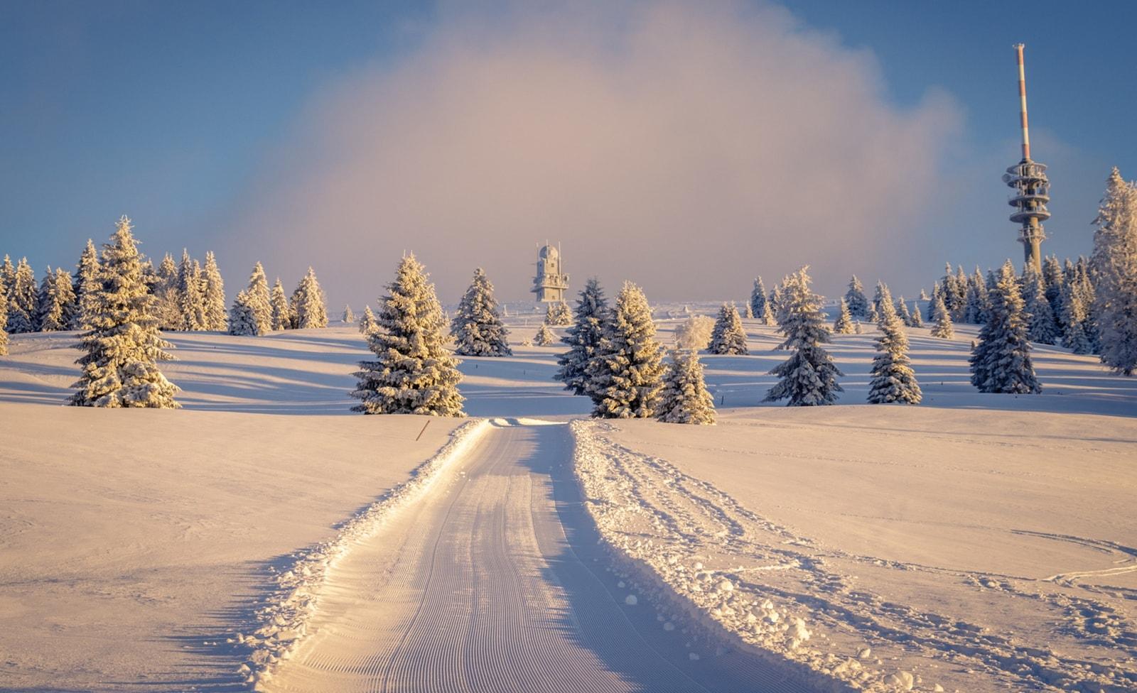 Skifahren in Feldberg