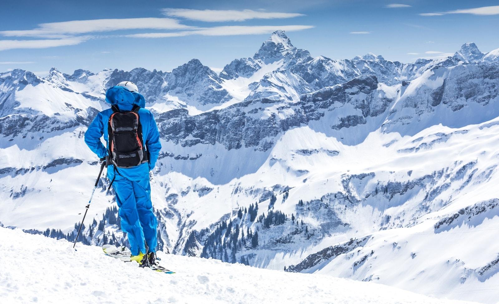 Skifahren in Fellhorn-Kanzelwand
