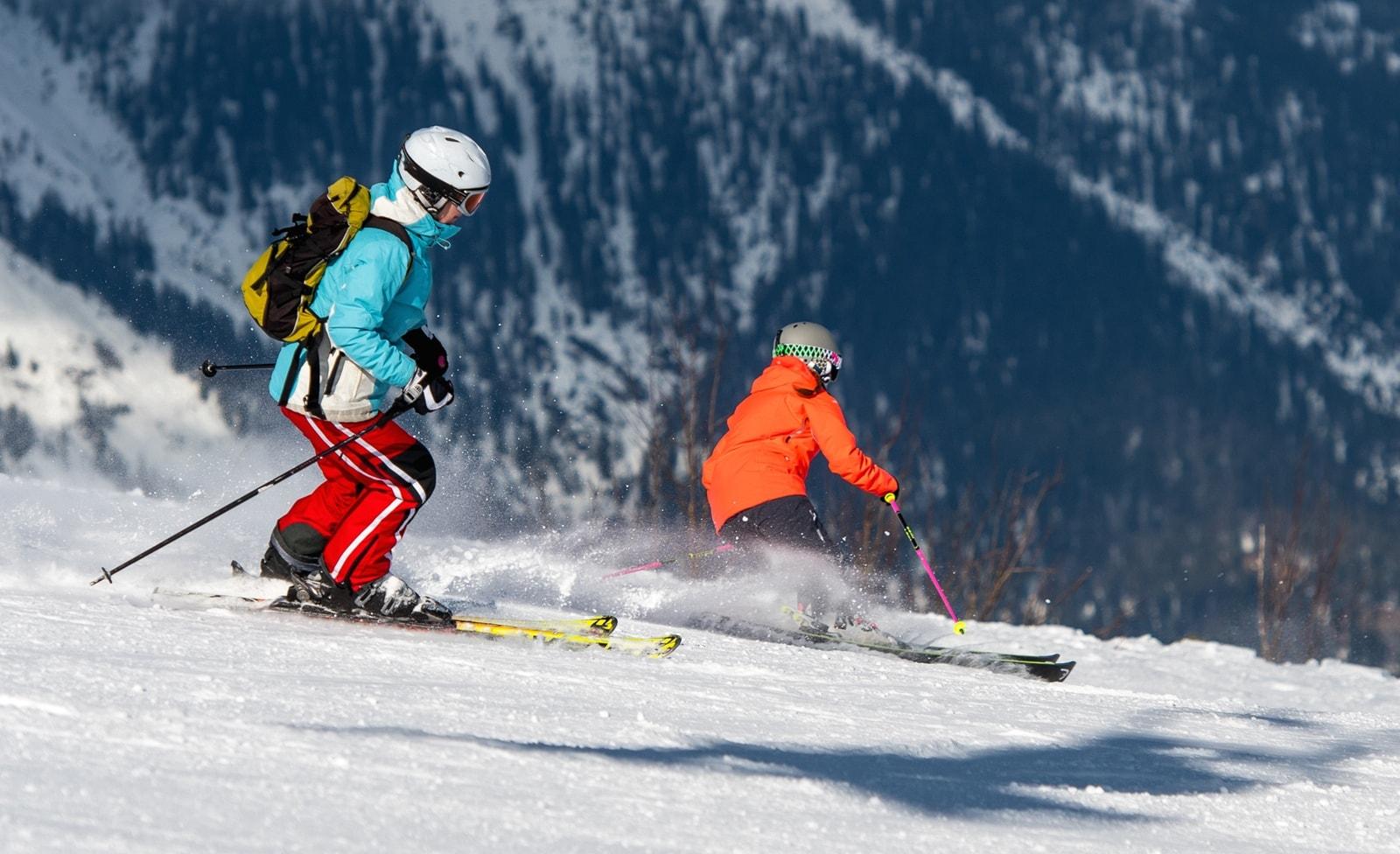 Skifahren in Garmisch-Partenkrichen