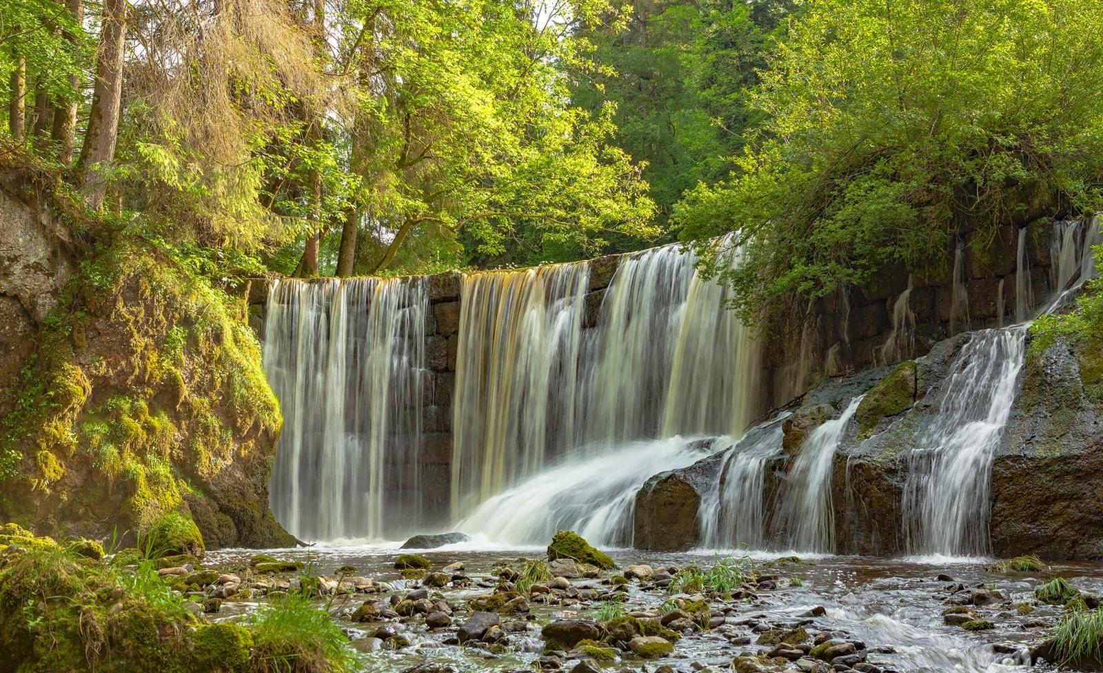 Wasserfall Geratsen
