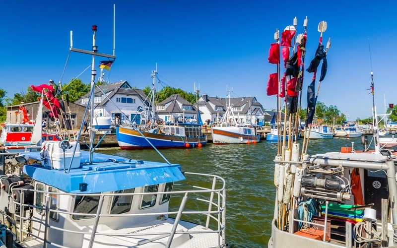 Hafen Hiddensee