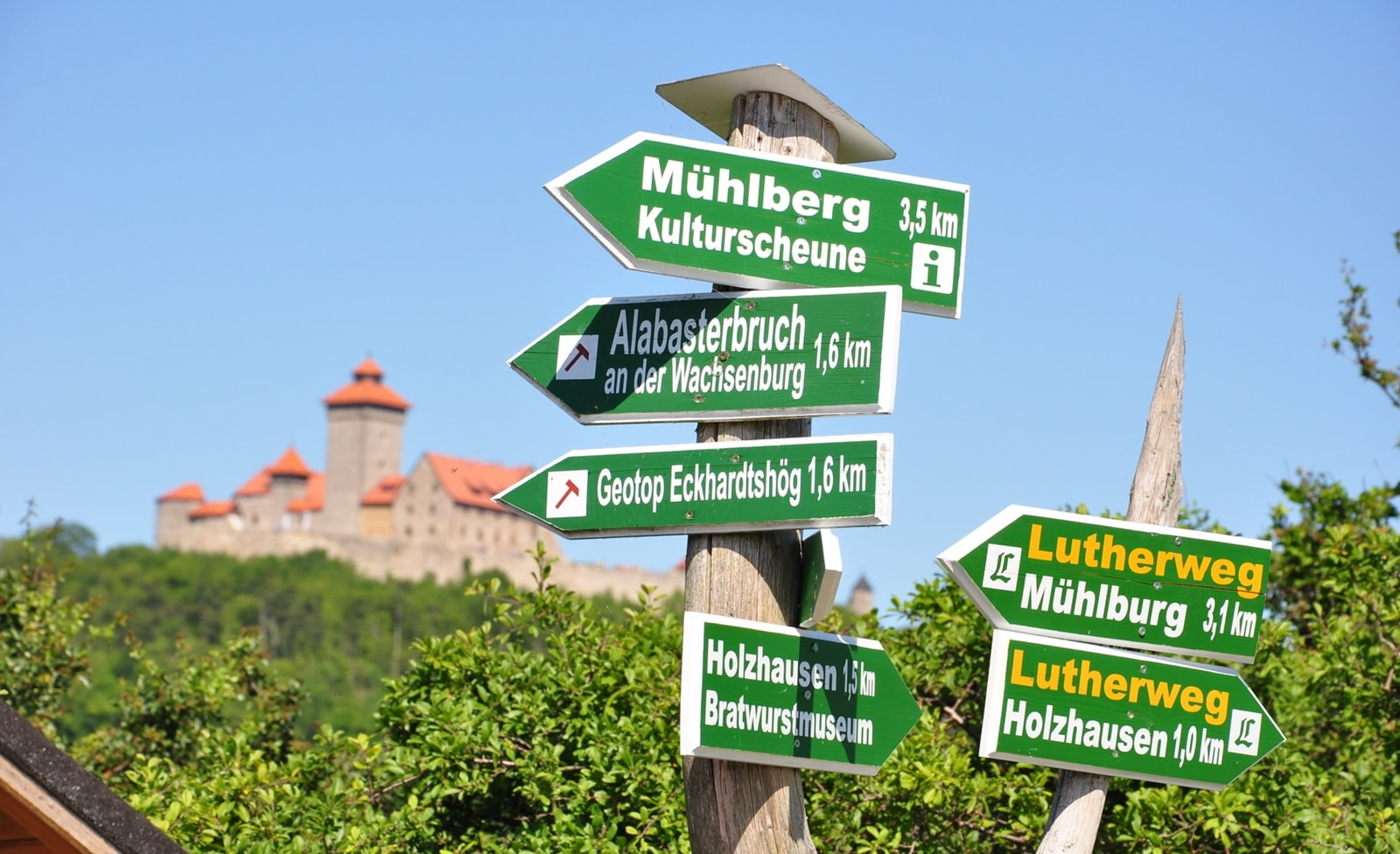 Lutherweg durch Sachsen, Sachsen-Anhalt und Thüringen