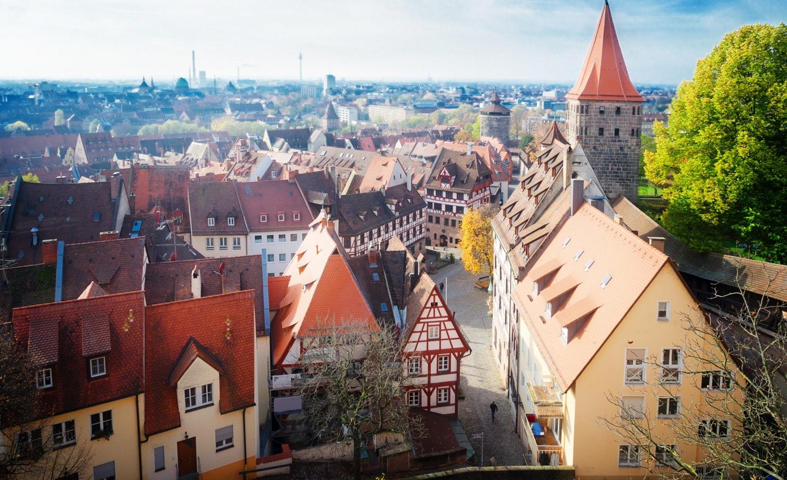 Altstadt in Nürnberg