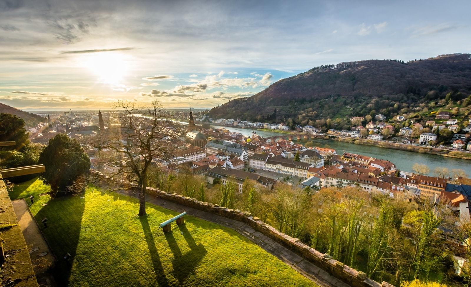 Aussichtspunkt bei Heidelberg