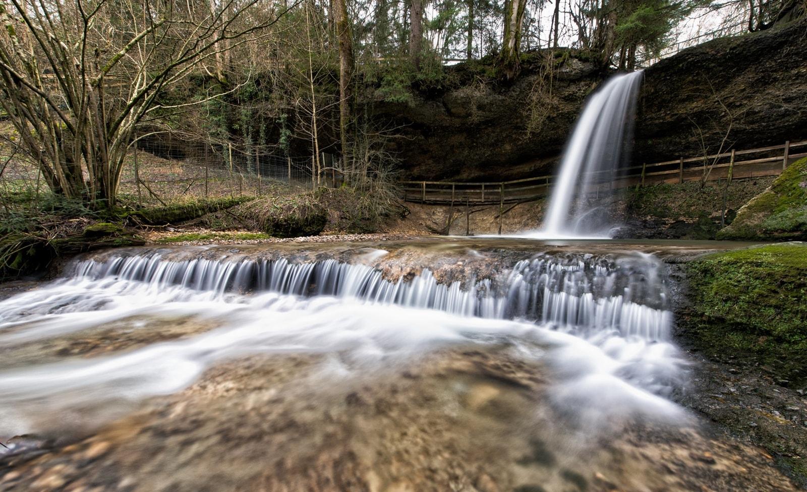 Wasserfälle in Scheidegg