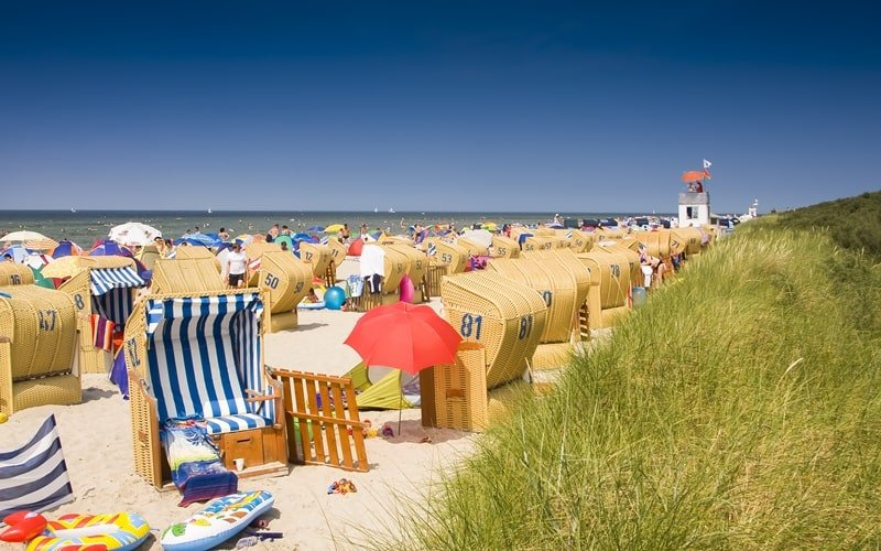 Strand in Timmendorf Insel Poel