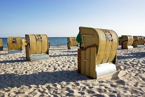 Strandkörbe Fehmarn