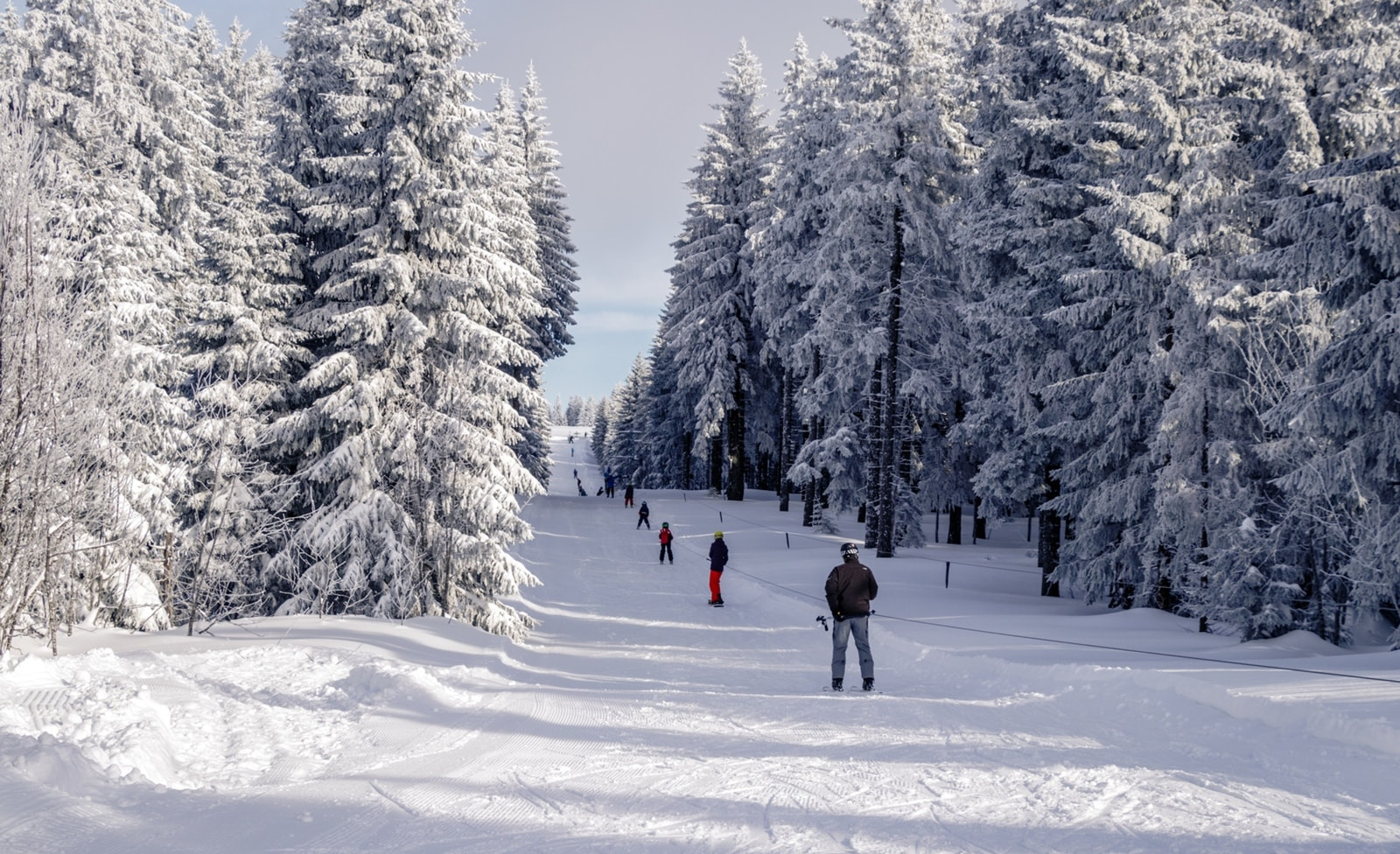 Skigebiet in Todtnauberg