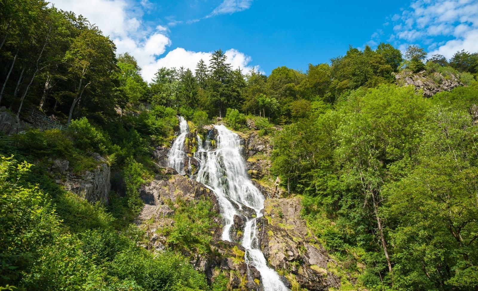 Wasserfall in Todtnau