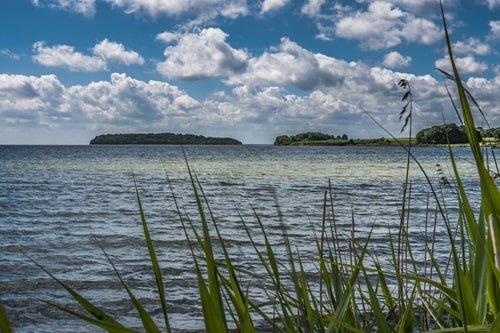 Ufer in Vilm