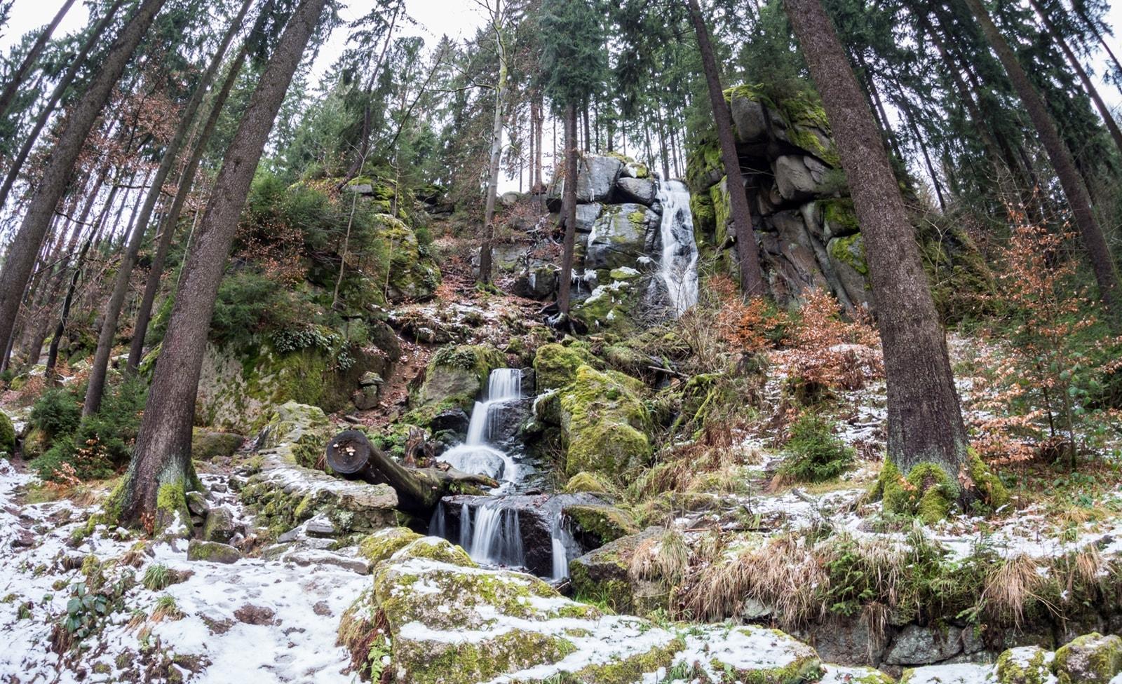 Wasserfall in Sachsen