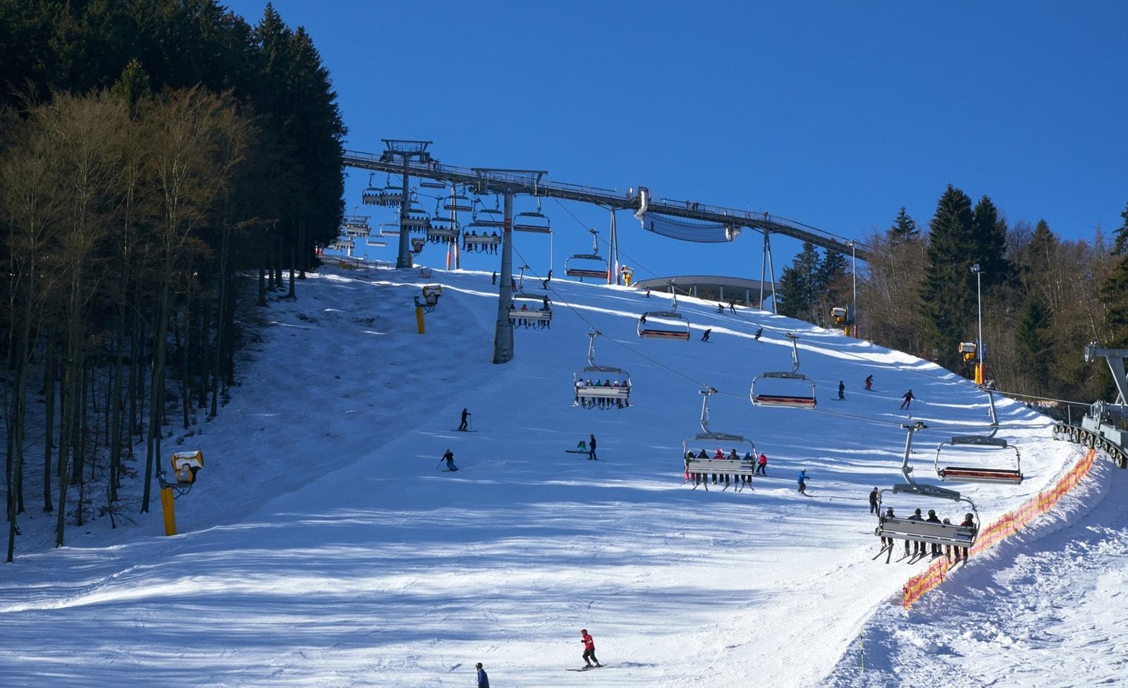 Skigebiet im Sauerland