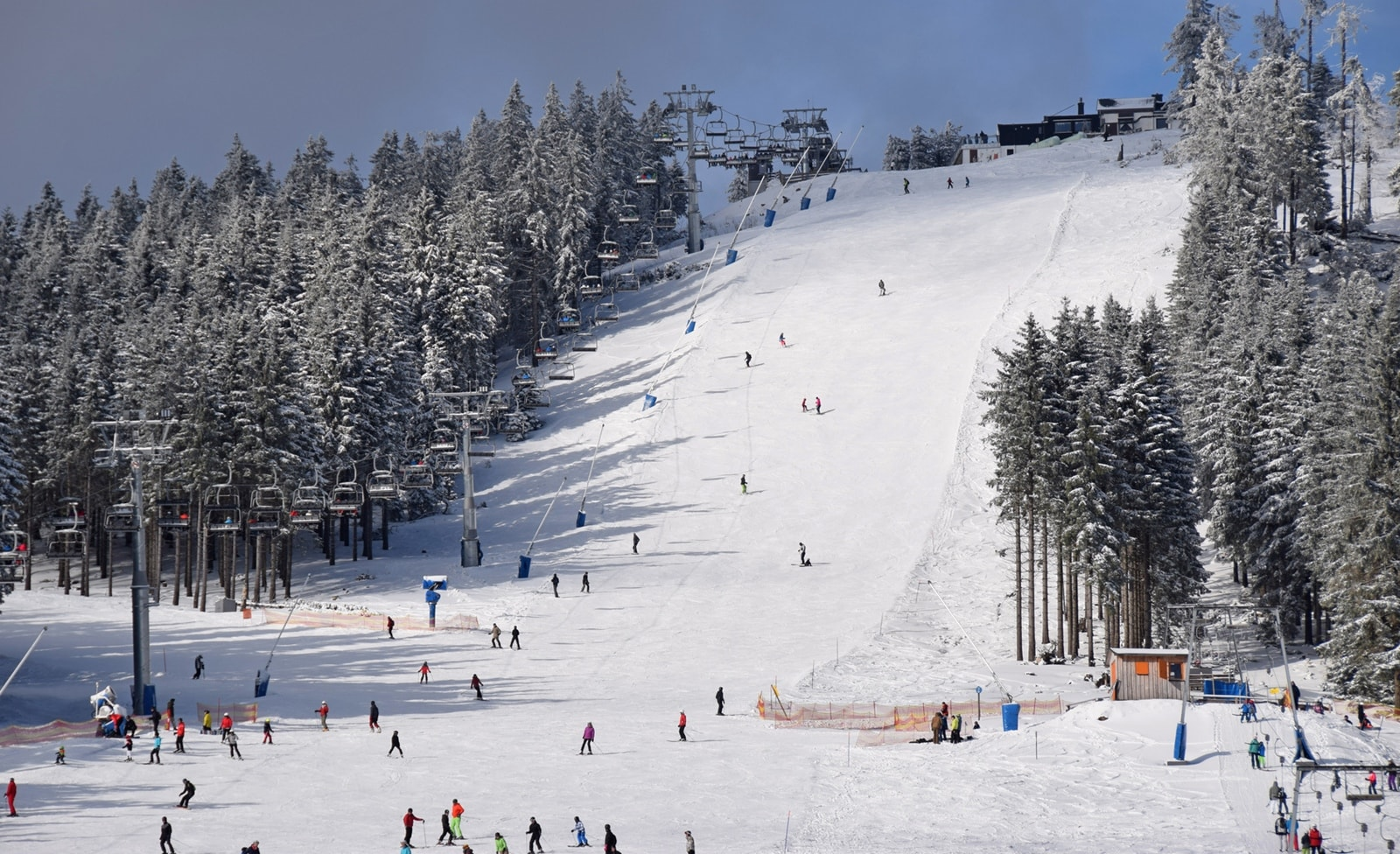 Skigebiet im Harz
