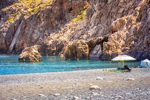 Agiofarago Strand Kreta